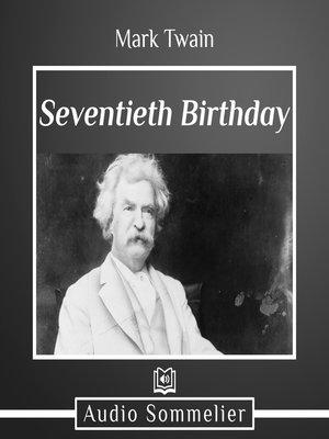 cover image of Seventieth Birthday