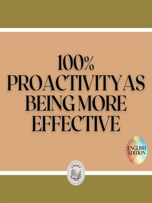 cover image of 100% PROACTIVITY