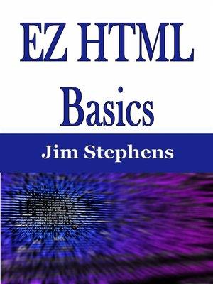 cover image of EZ HTML Basics