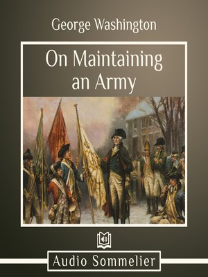 cover image of On Maintaining an Army