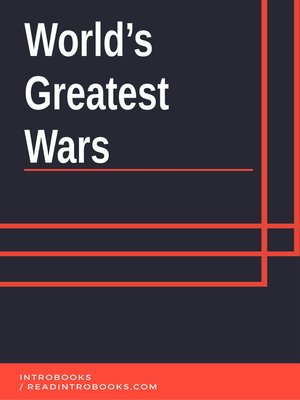 cover image of World's Greatest Wars