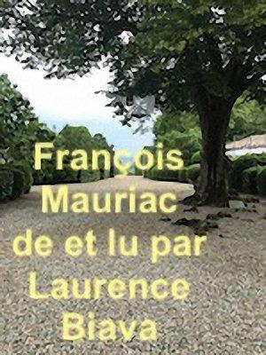 cover image of Duetto Fançois Mauriac