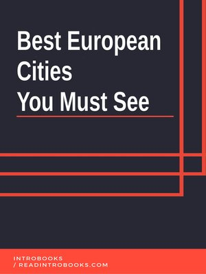 cover image of Best European Cities You Must See