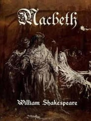 cover image of Macbeth--William Shakespeare