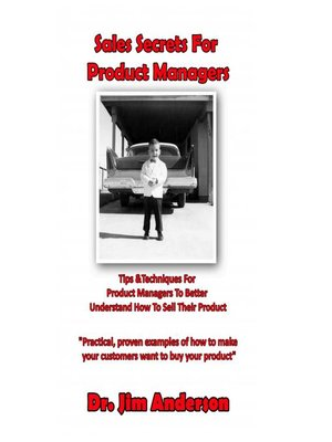 cover image of Sales Secrets for Product Managers