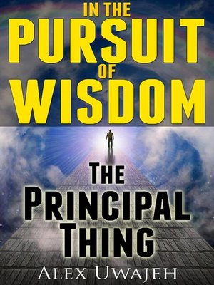 cover image of In the Pursuit of Wisdom
