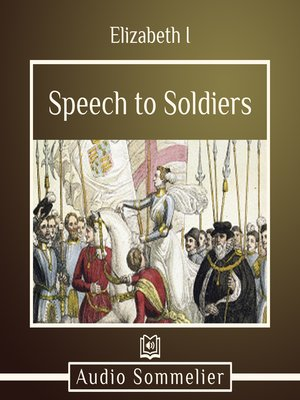 cover image of Speech to Soldiers