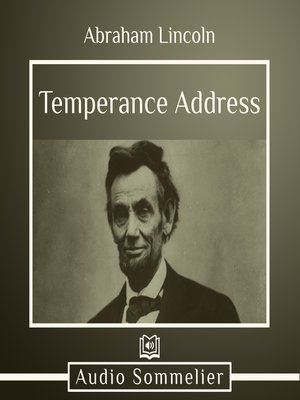 cover image of Temperance Address