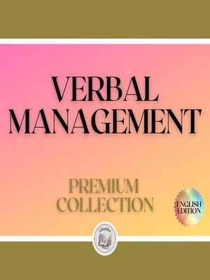 cover image of VERBAL MANAGEMENT