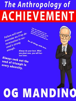 cover image of The Anthropology of Achievement