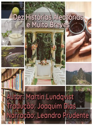 cover image of Dez Histórias Aleatórias e Muito Breves