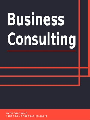 cover image of Business Consulting