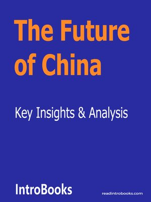 cover image of The Future of China