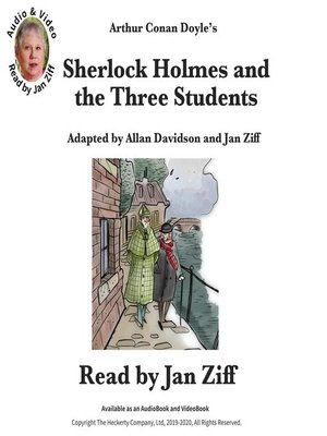 cover image of Sherlock Holmes and the Three Students