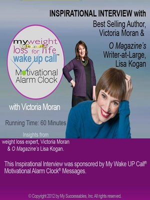 cover image of My Weight Loss for Life Wake UP Call, Inspirational Interview
