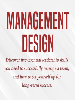 cover image of Management Design
