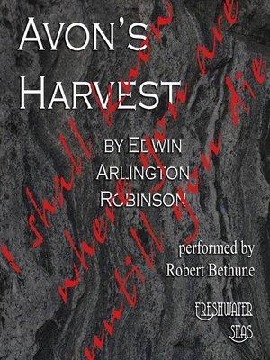 cover image of Avon's Harvest