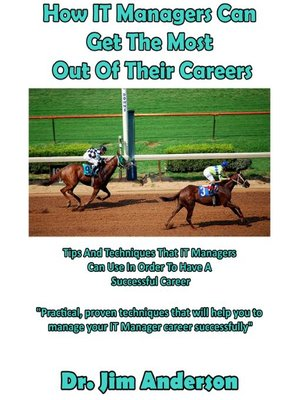 cover image of How IT Managers Can Get the Most Out of Their Careers