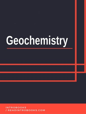 cover image of Geochemistry