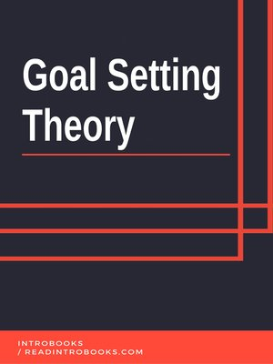 cover image of Goal Setting Theory