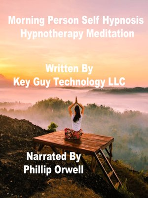 cover image of Morning Person Self Hypnosis Hypnotherapy Meditation