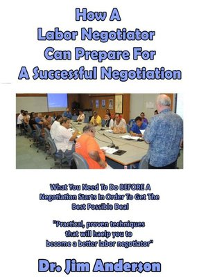 cover image of How a Labor Negotiator Can Prepare for a Successful Negotiation