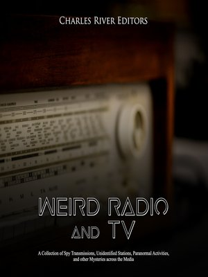 cover image of Weird Radio and Television
