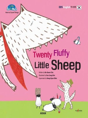 cover image of Twenty Fluffy Little Sheep