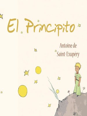 cover image of El principito