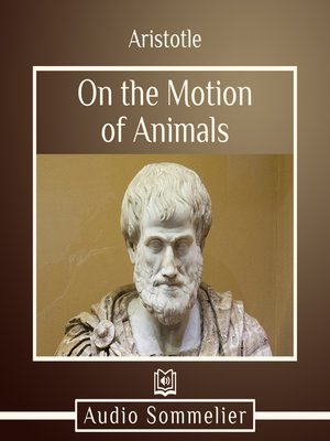 cover image of On the Motion of Animals