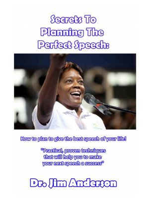 cover image of Secrets to Planning the Perfect Speech