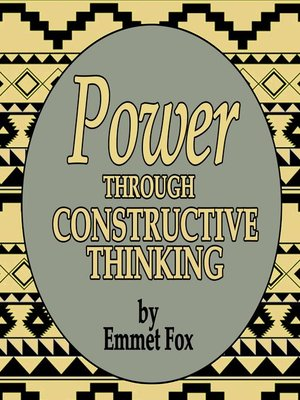 cover image of Power Through Constructive Thinking