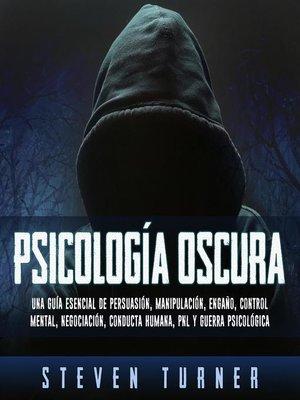 cover image of Psicología oscura