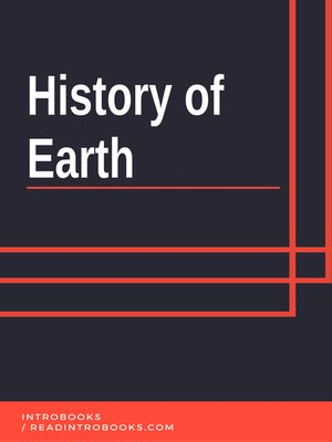 cover image of History of Earth