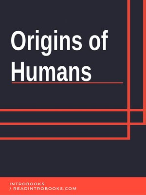 cover image of Origins of Humans