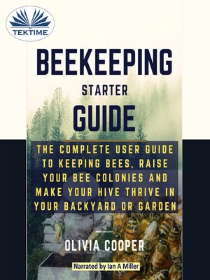 cover image of Beekeeping Starter Guide
