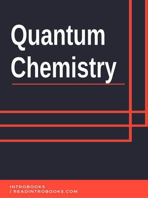 cover image of Quantum Chemistry