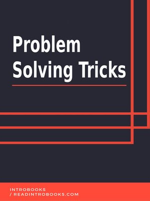 cover image of Problem Solving Tricks