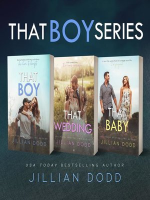 cover image of That Boy Series (3 Book Series)