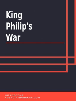 cover image of King Philips War