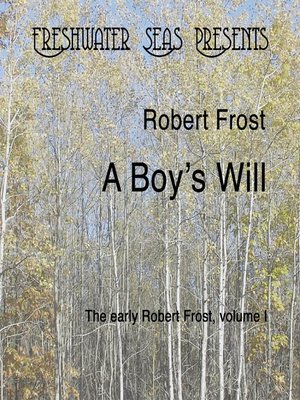 cover image of A Boy's Will