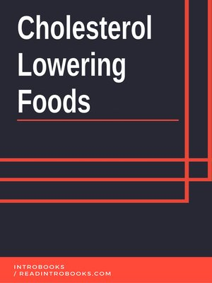 cover image of Cholesterol  Lowering Foods