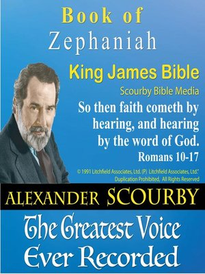 cover image of The Book of Zephaniah