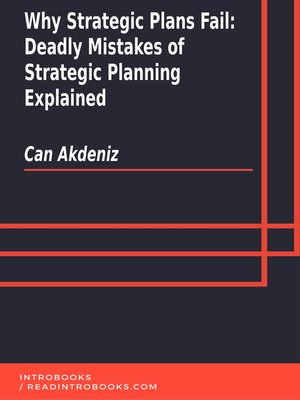 cover image of Why Strategic Plans Fail