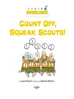 cover image of Count Off, Squeak Scouts!