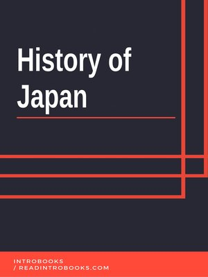 cover image of History of Japan