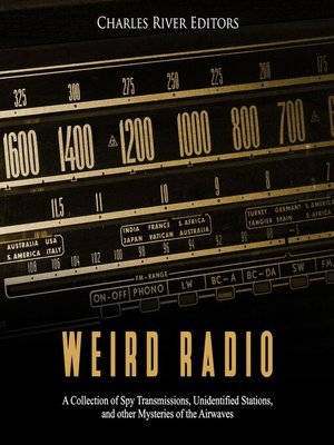 cover image of Weird Radio