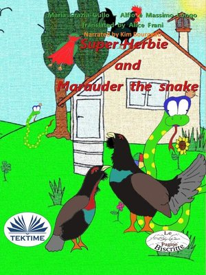 cover image of Super-Herbie and Marauder the snake