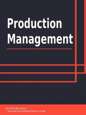 cover image of Production Management