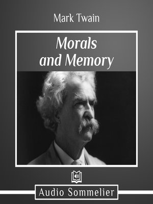 cover image of Morals and Memory